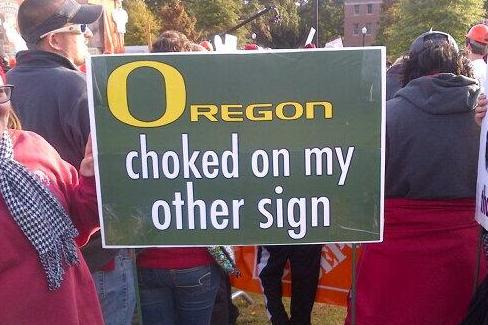 Best Signs from ESPN's College GameDay Week 11