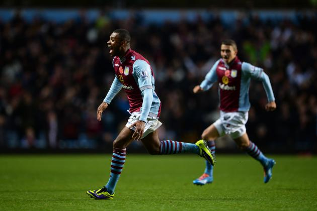 GIF: Leandro Bacuna Free Kick Sparks Aston Villa to Victory over Cardiff