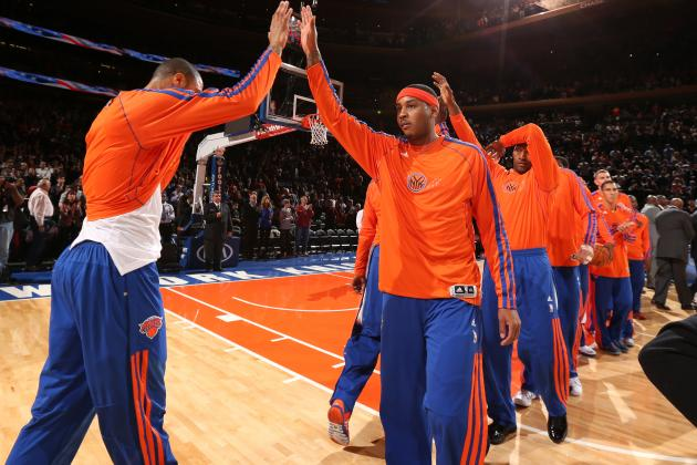 Where Do New York Knicks Go If Carmelo Anthony Actually Leaves?