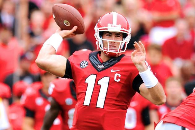 Georgia QB Aaron Murray Breaks Danny Wuerffel's SEC Career TD Passing Record