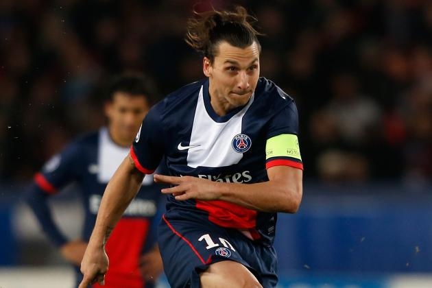 GIFs: Zlatan Ibrahimovic Scores Hat-Trick to Lead PSG Past Nice in Ligue 1