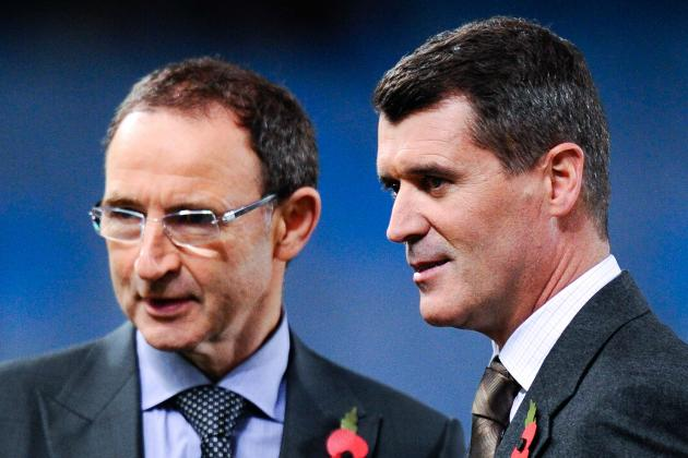 Republic of Ireland's Martin O'Neill: I Do Not Intend to Change Roy Keane