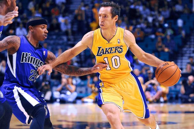 Steve Nash Plans to Play Out Contract with LA Lakers