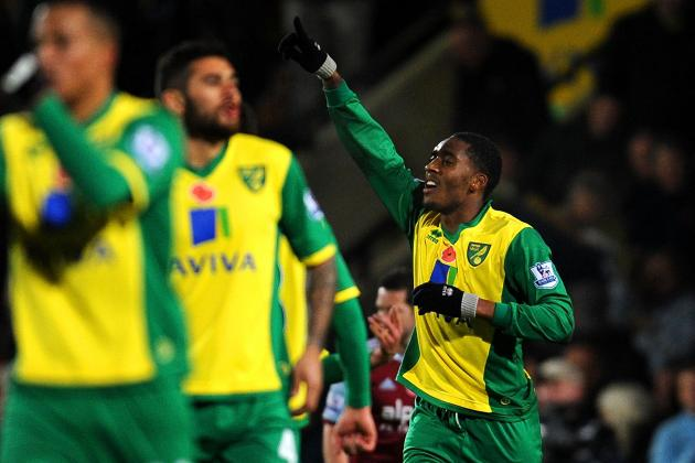 Norwich Come Back to Defeat West Ham at Carrow Road