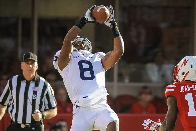 Robinson Breaks PSU Record for Rec Yds