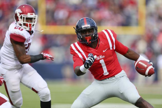 Rebels Beat the Razorbacks, 34-24
