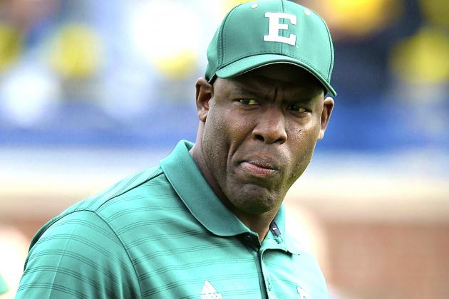 Eastern Michigan Head Coach Ron English Fired After Obscene Rant