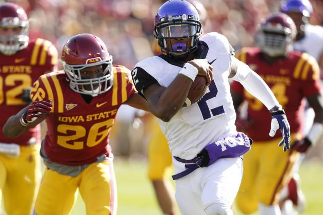TCU Rallies to Beat Iowa State 21-17