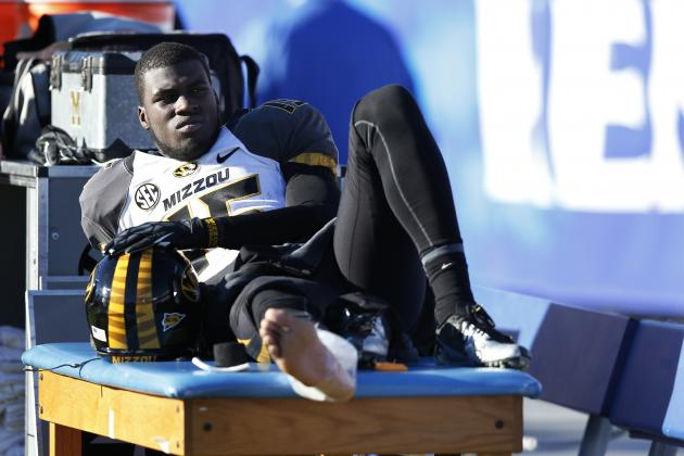 DGB Has Sprained Right Ankle