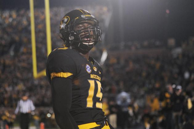 Dorial Green-Beckham Injury: Updates on Missouri WR's Ankle, Likely Return Date