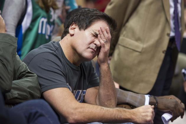 Whatever Success Mavericks Have Won't Be Mark Cuban's Doing