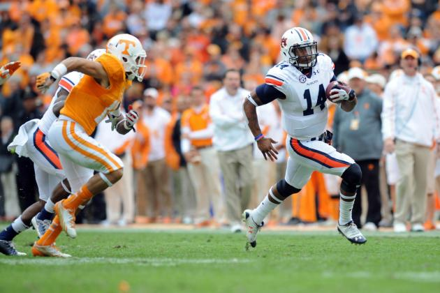 Auburn vs. Tennessee: Gus Malzahn's Offense Giving Us 2010 Flashbacks