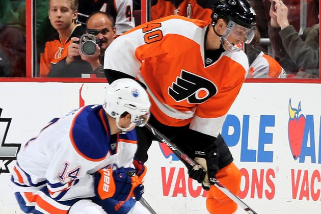 Giroux Ends Scoring Drought in Flyers' Win