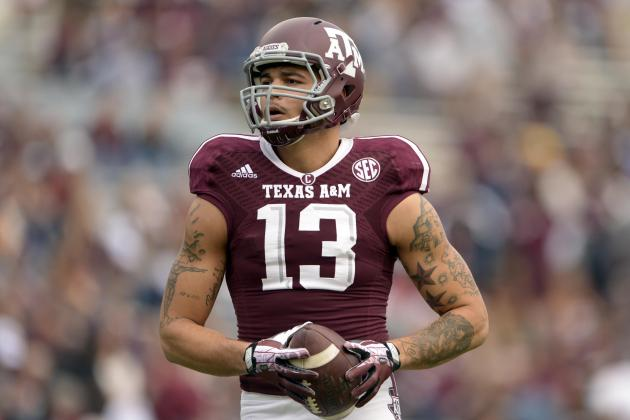 Mike Evans Sets Texas A&M Record for Most Receiving Yards in a Season