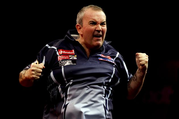 Grand Slam of Darts 2013: Power Ranking Tournament's Top Contenders