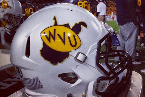 West Virginia Is Wearing White Throwback Helmets vs. Texas
