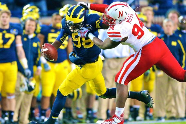 Nebraska vs. Michigan: Cornhuskers D Plays Big, but Where Was This All Season?