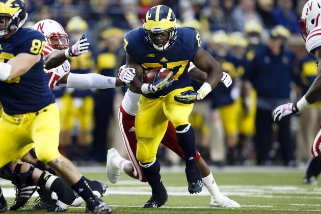 Michigan Football: What in the World Is Wrong with Wolverines' Run Game?
