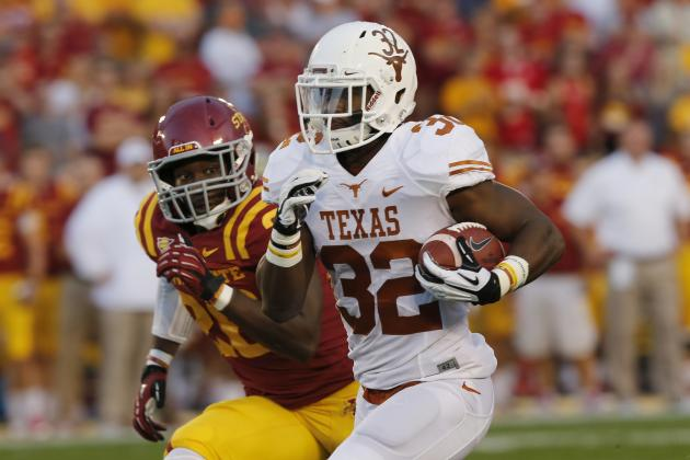 Johnathan Gray Injury: Updates on Texas RB's Leg, Likely Return Date