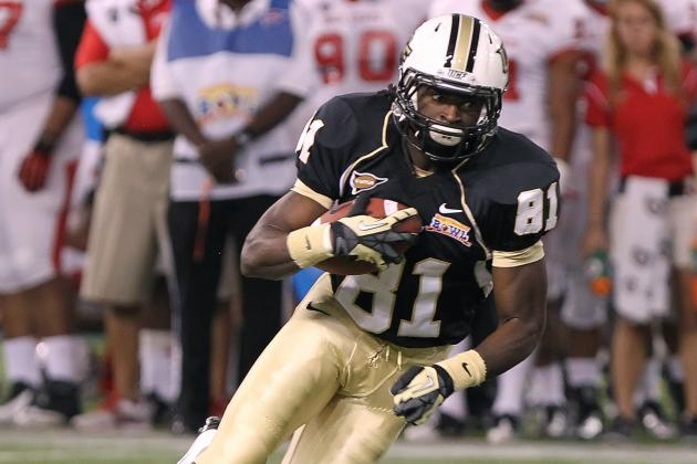 Breshad Perriman Injury: Updates on UCF WR's Status, Likely Return Date