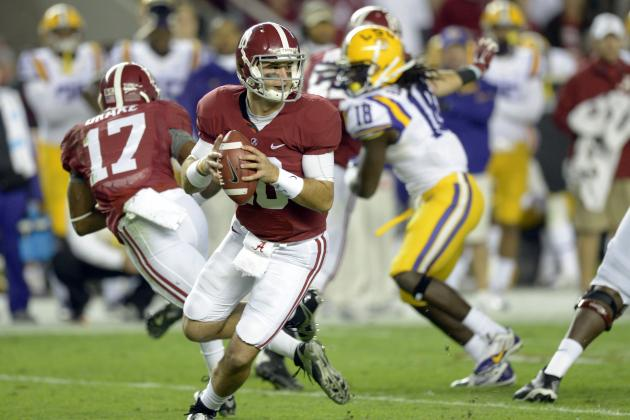 AJ McCarron Passes John Parker Wilson as Alabama's Career Passing Leader
