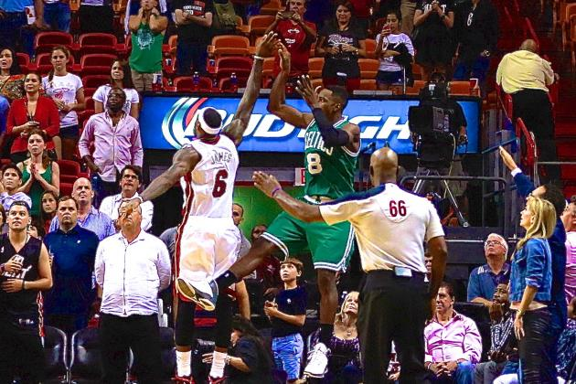 Jeff Green Nails Game-Winning Three-Pointer over LeBron