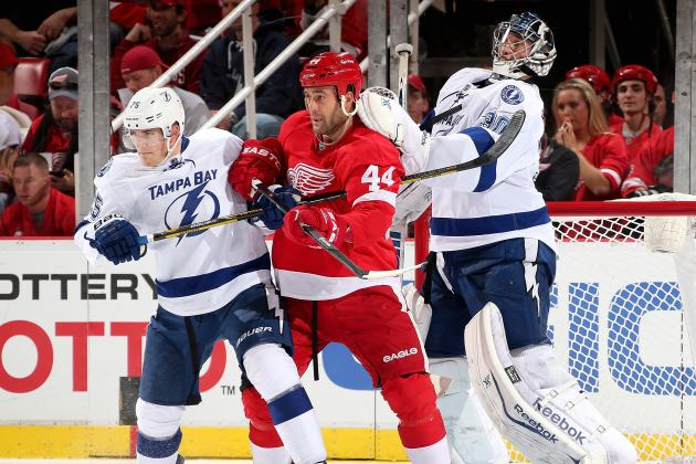 Teddy Purcell Propels Lightning Past Red Wings