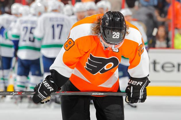 What's Wrong with the Philadelphia Flyers' Claude Giroux?