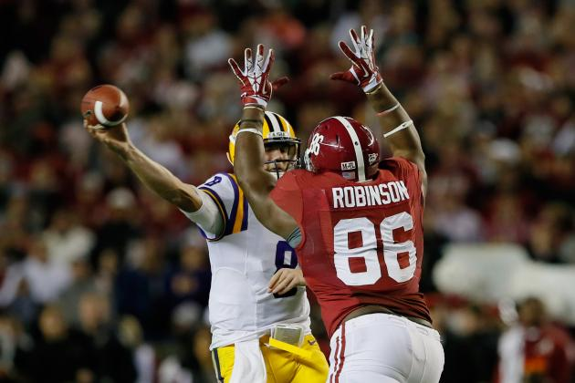 LSU vs. Alabama: Live Game Grades and Analysis for the Crimson Tide