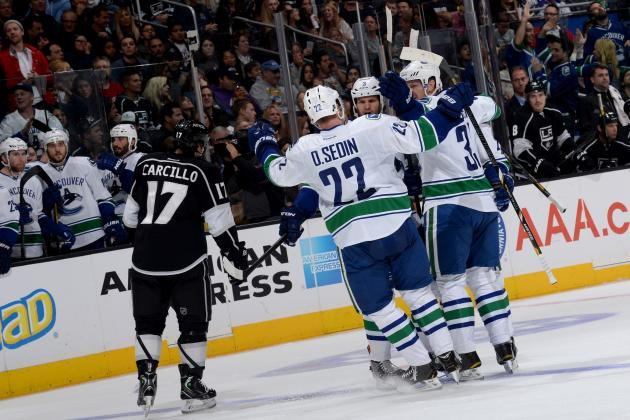 Weary Canucks Lose to Kings