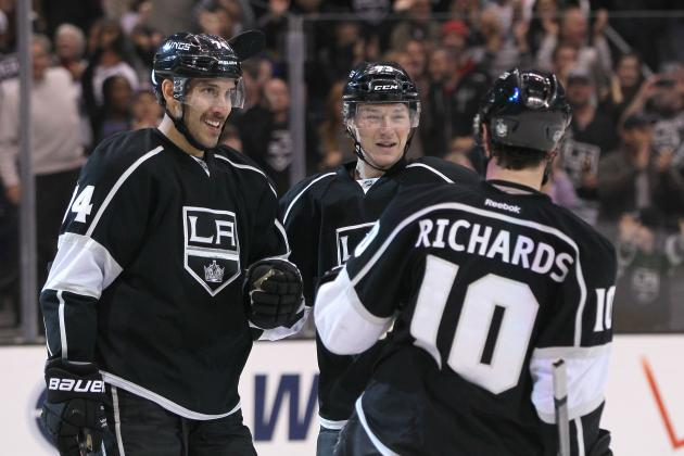 Kings Hammer Canucks