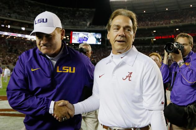 Nick Saban Gives Les Miles a Taste of Own Medicine in Alabama's Big Win over LSU