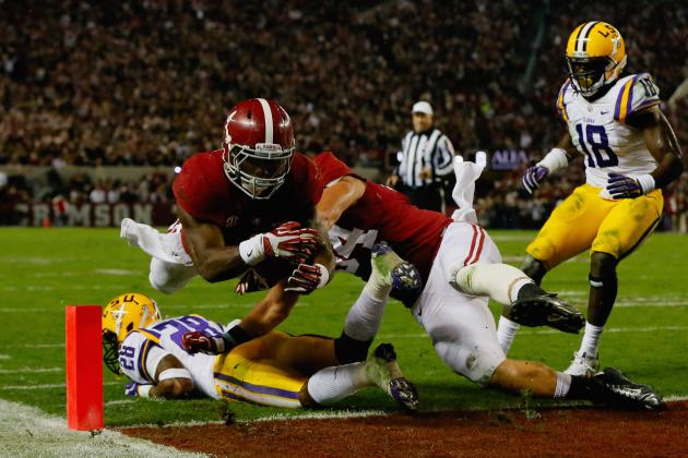 LSU vs. Alabama: When in Doubt, Tide Can Always Rely on Its Running Game