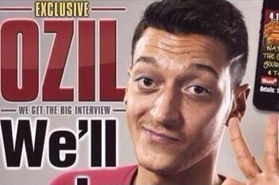 The Sun Exaggerate Özil's Words, Saying