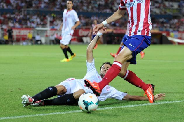 Sevilla, Espanyol Announce Lineups