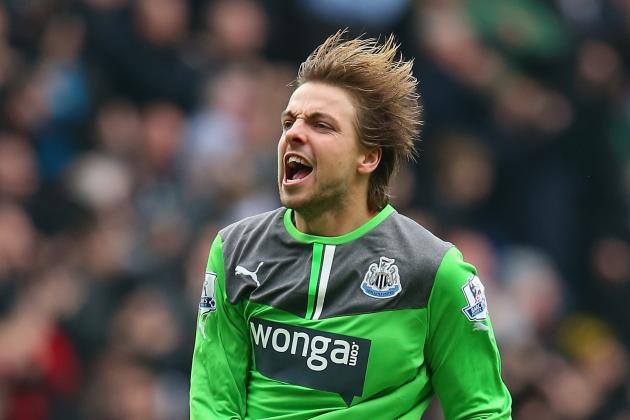GIF: Tim Krul's Amazing Save and Mapou Yanga-Mbiwa's Clearance