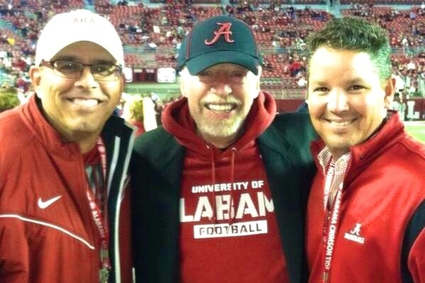 Nike Founder Phil Knight Wears Alabama Gear