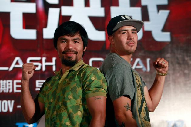 Pacquiao vs. Rios: Pac-Man Loss Would Destroy Hope of Floyd Mayweather Bout