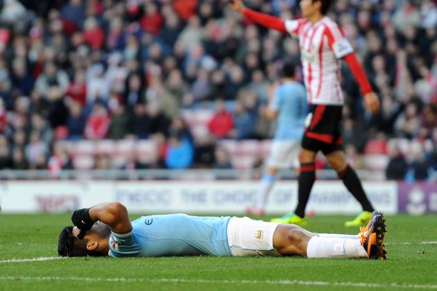 Manchester City's Tactics vs. Sunderland Show Indifference to EPL Title Race