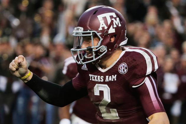 Texas A&M Makes Case for BCS Invite in 2nd Half of Mississippi State Beatdown