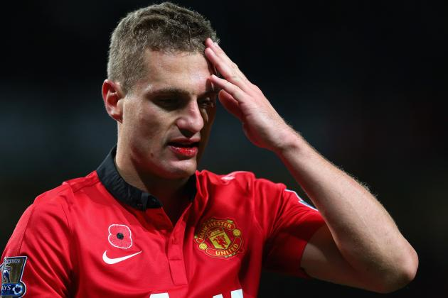 Nemanja Vidic Injury: Updates on Man United Star's Head, Likely Return Date
