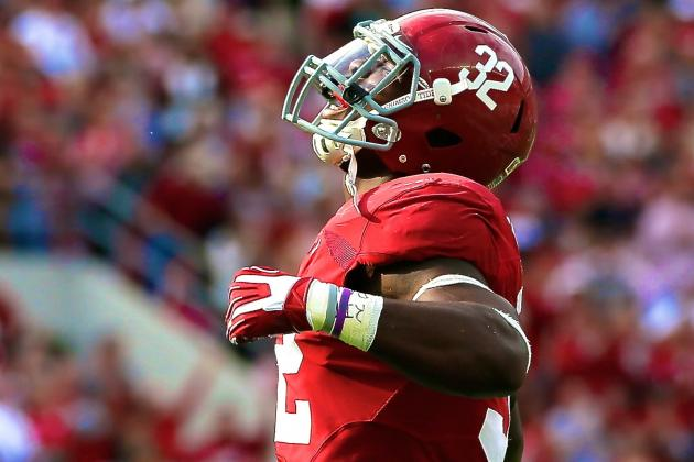 Alabama's C.J. Mosley Making a Case as College Football's Best Defensive Player