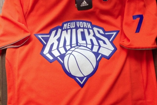 New York Knicks Christmas Day Uniform Is Bright Orange with Sleeves