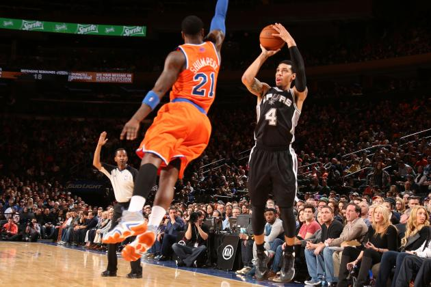 San Antonio Spurs vs. New York Knicks: Live Score and Analysis
