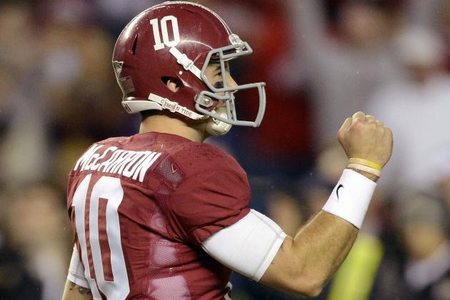 Is AJ McCarron the Best Quarterback in College Football?
