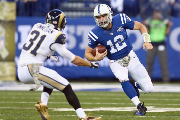 Andrew Luck's Updated Fantasy Trade Value After Week 10