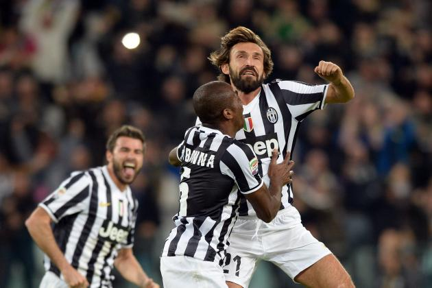 Andrea Pirlo and Paul Pogba Score Stunning Goals for Juventus vs. Napoli