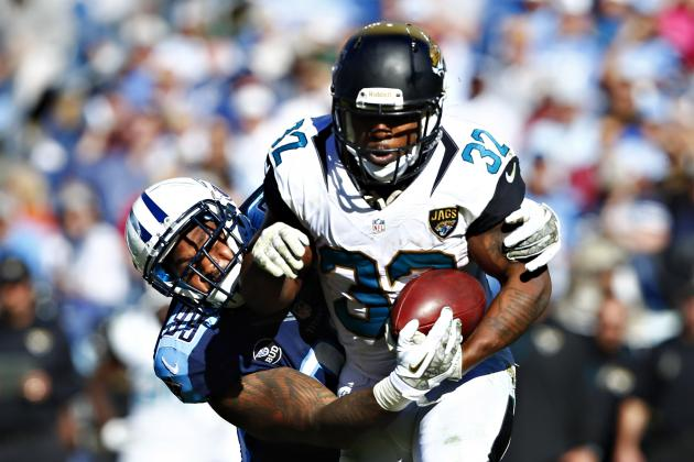 Jaguars Hold off Titans for 1st Win of Season
