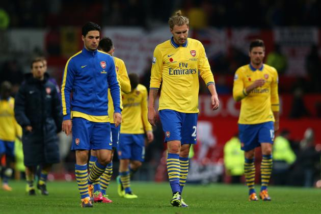 Arsenal's Psyche in Big Games Needs to Change