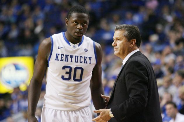 Calipari Expects More Rebs from Randle